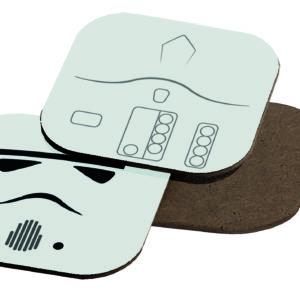 Sous-verre Star Wars - Stormtrooper