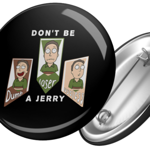 badge don't be a jerry