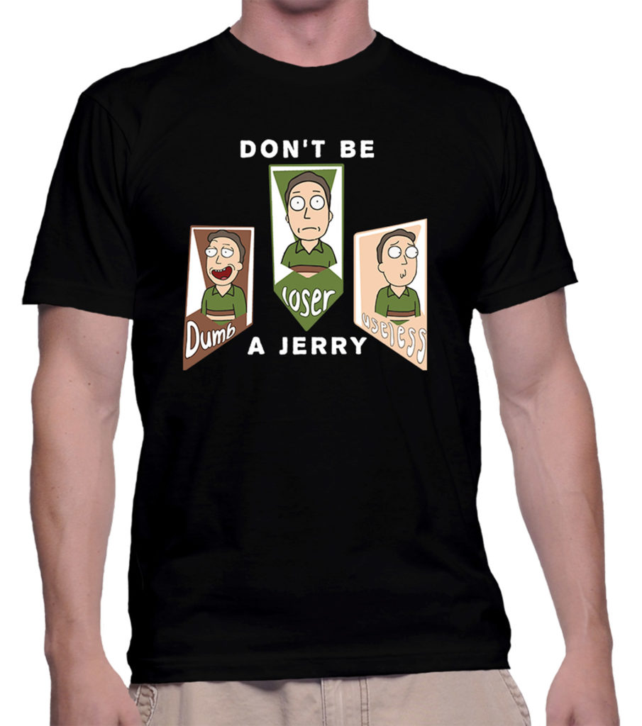 don't be a jerry