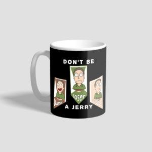 mug don't be a jerry