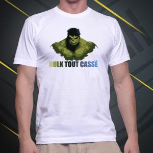 hulk tout cassé