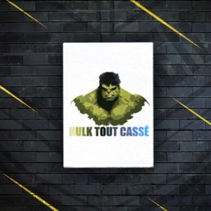 hulk tout cassée
